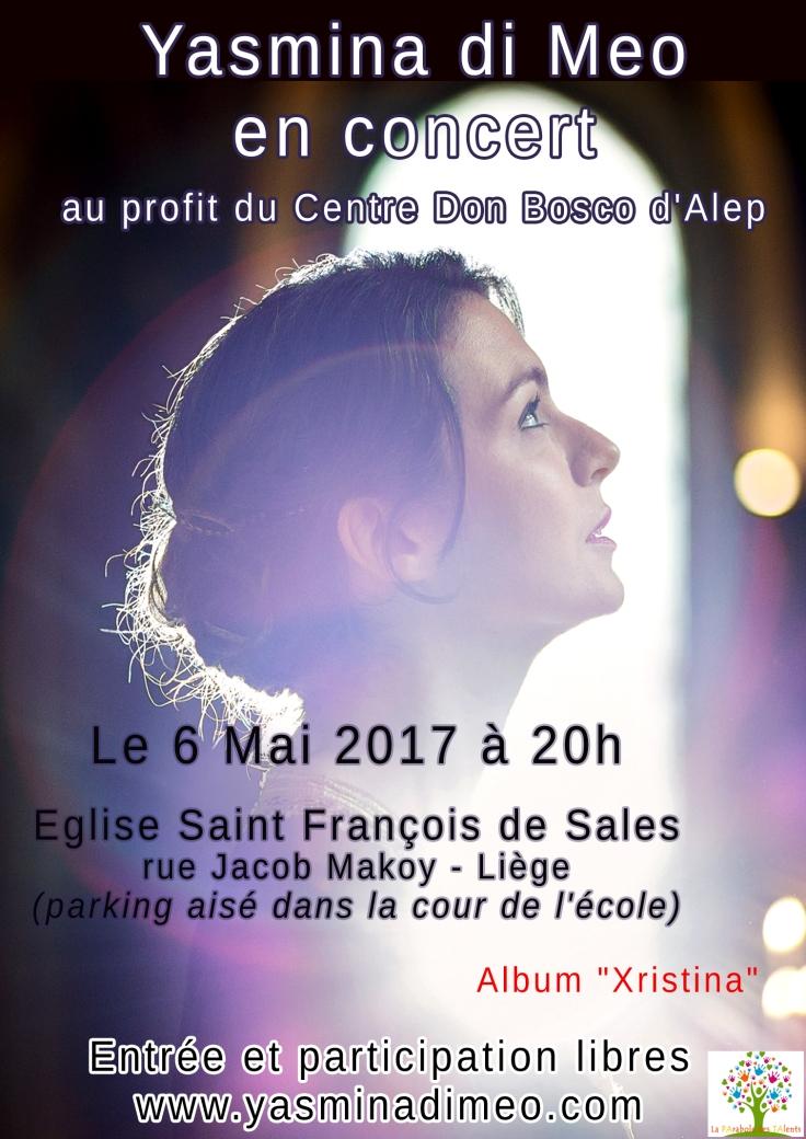 Affiche Concert Liège di meo